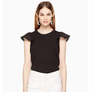 {Kate Spade} Black blouse